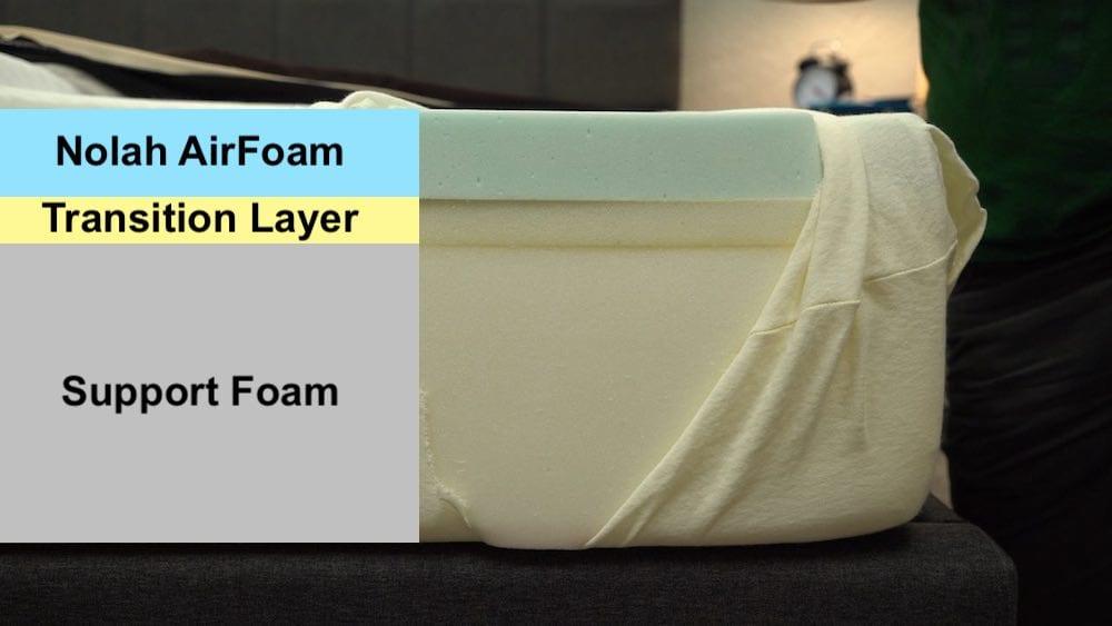 nolah mattress review construction and layers