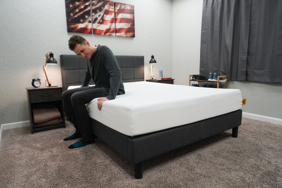 Nolah Original 10 mattress review edge support test