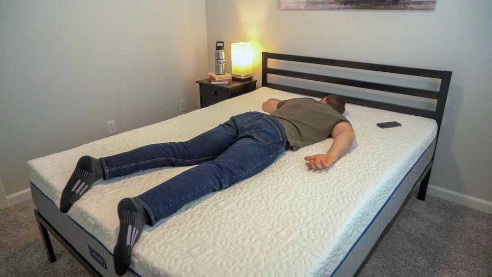 novosbed mattress review back and stomach sleepers