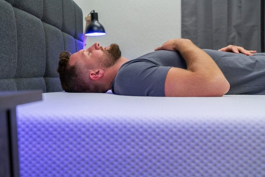 purple mattress review back sleepers
