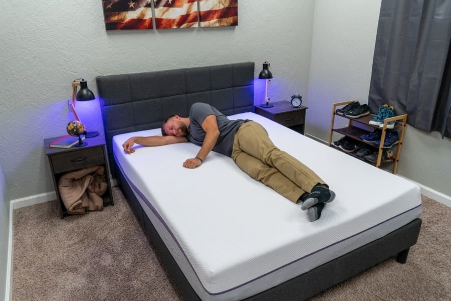 purple mattress review side sleeper