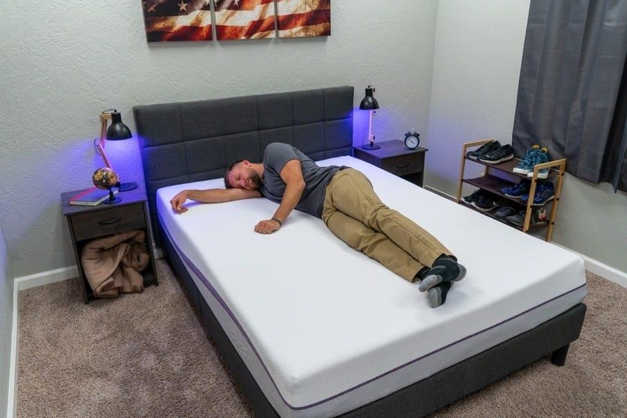 purple mattress review side sleeper