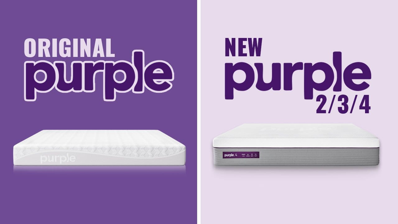 best purple mattress | original vs 2 vs 3 vs 4 (full guide)