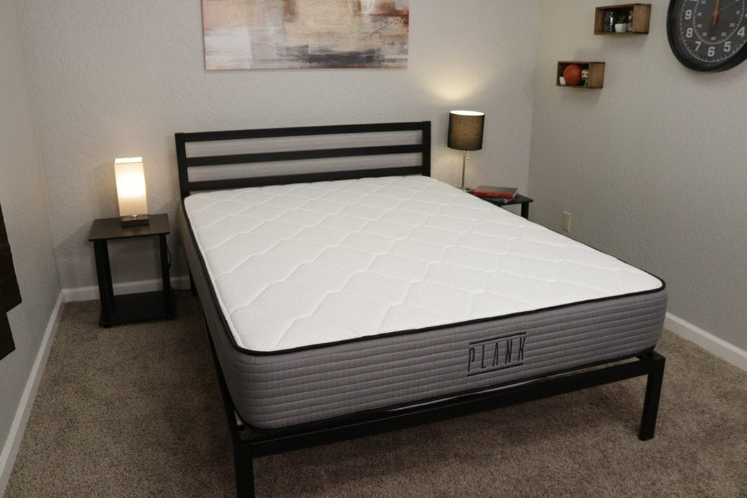 plank mattress review bed in a box mattress thats extra firm and semi firm