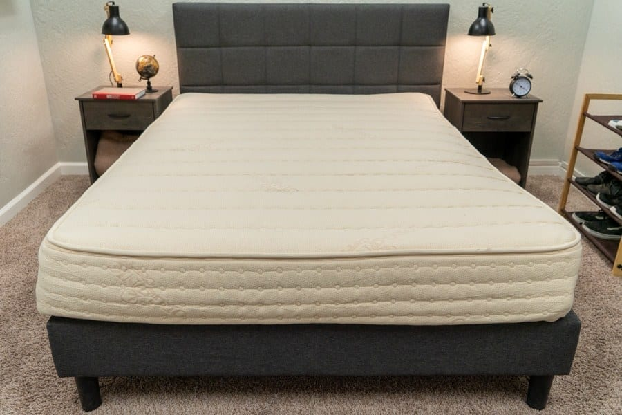 PlushBeds Mattress Review Overhead