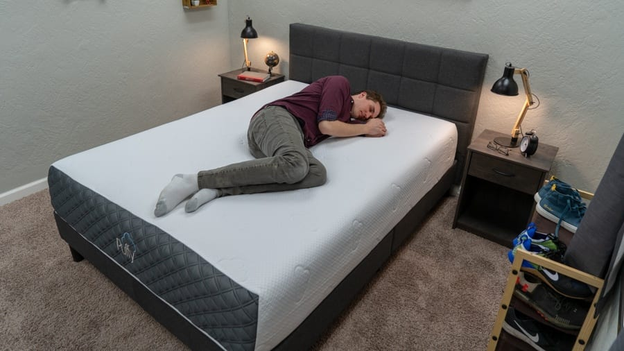 puffy lux mattress review side sleepers