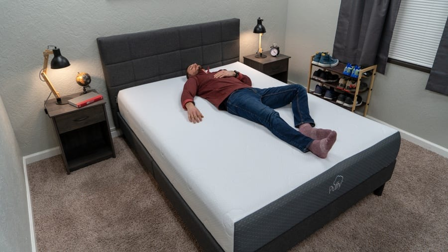 puffy mattress review back sleeper