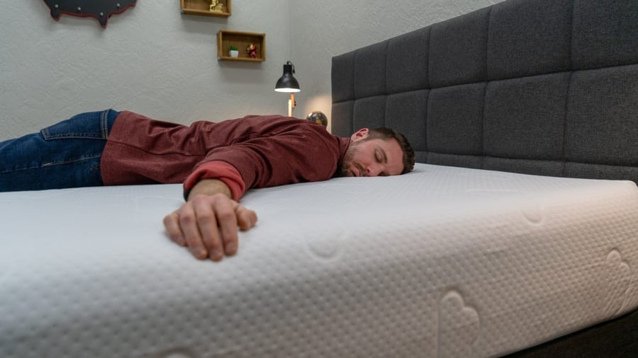 puffy mattress review stomach sleeper