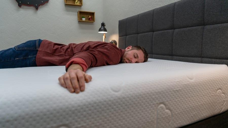 puffy mattress review stomach sleeper
