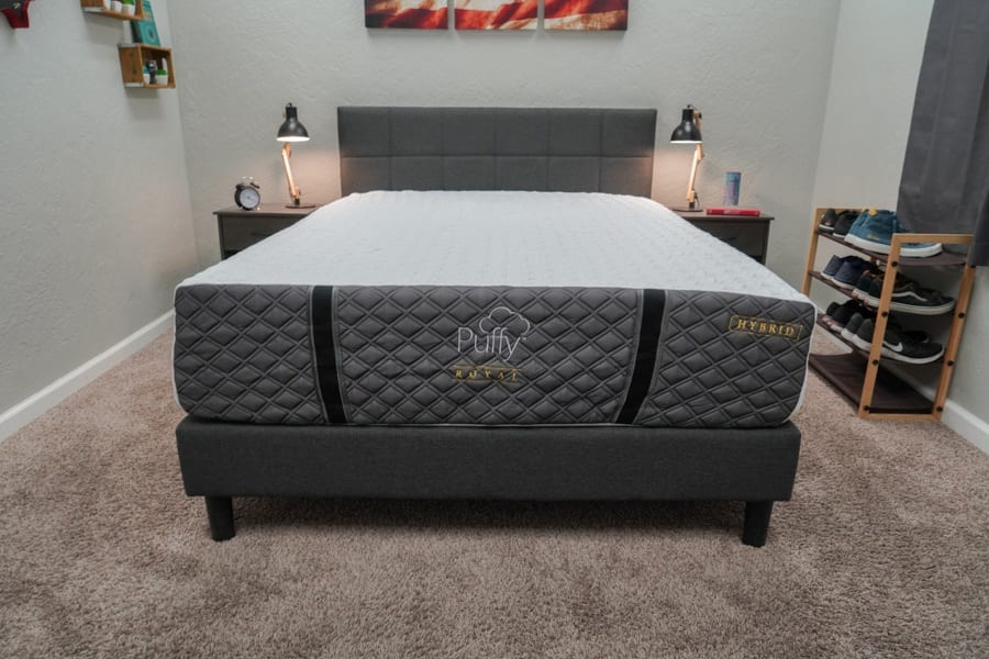 Puffy Royal Hybrid Mattress Review Overview