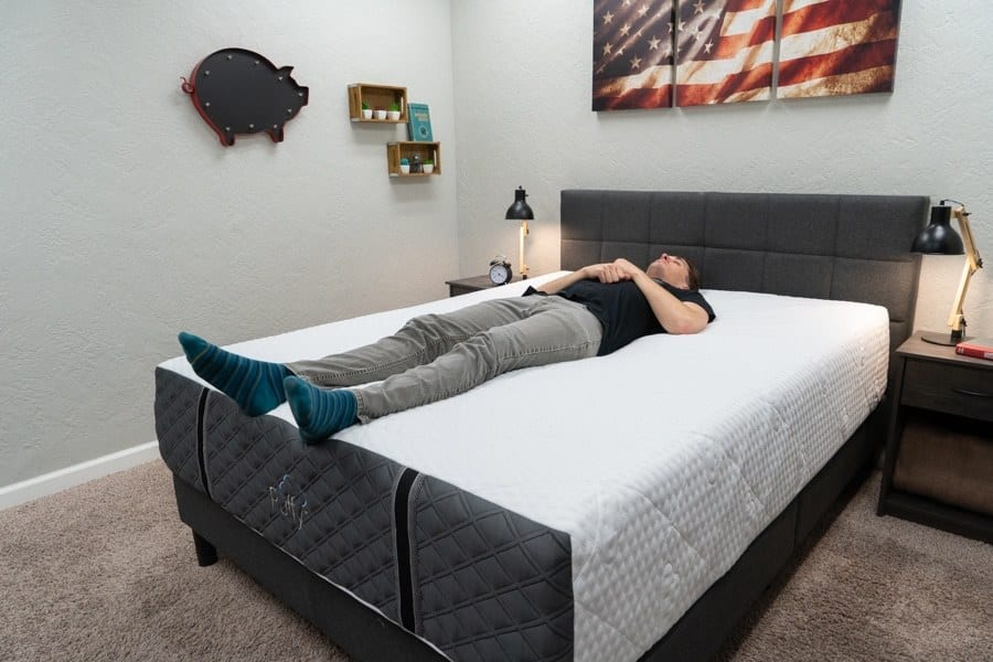 puffy royal mattress review back sleeper