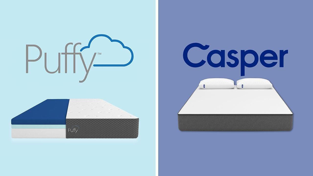 puffy vs casper mattress review