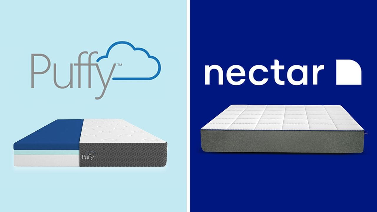 the best attitude 71c65 6e76d Puffy vs Nectar | Mattress Review & Comparison (UPDATED)