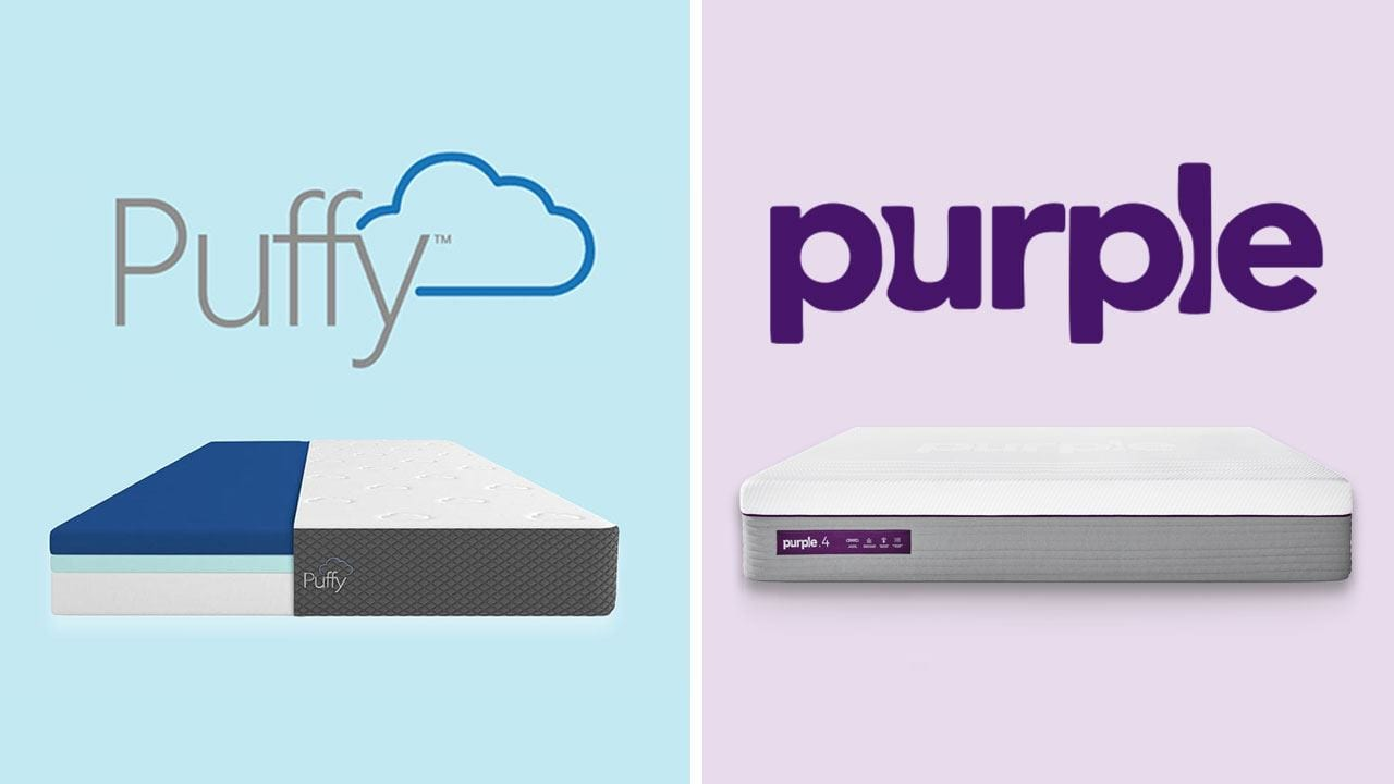puffy vs purple mattress review