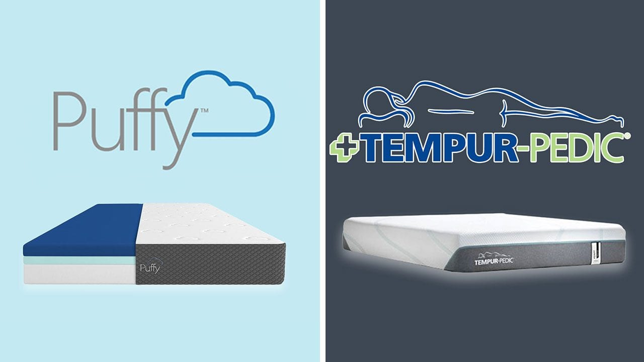 Puffy vs TempurPedic Mattress