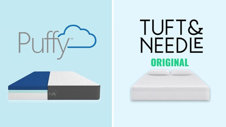 Puffy vs Tuft and Needle Mattress
