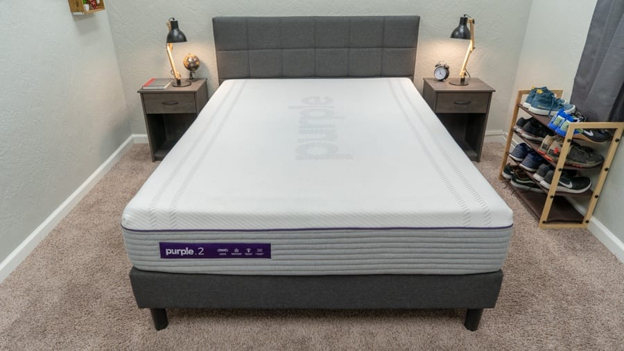purple mattress review new purple 2 bed in a box