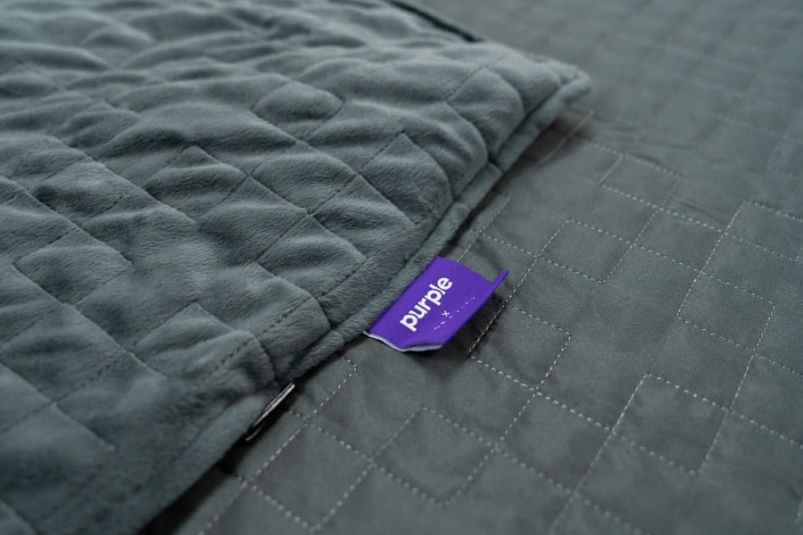 Purple Gravity Weighted Blanket