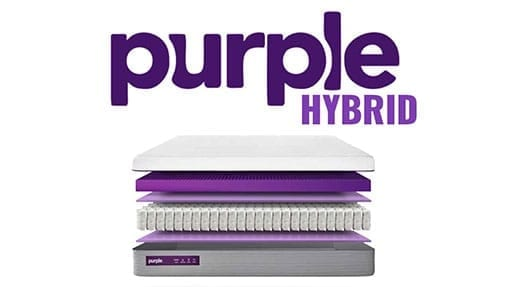 purple hybrid mattress review deal