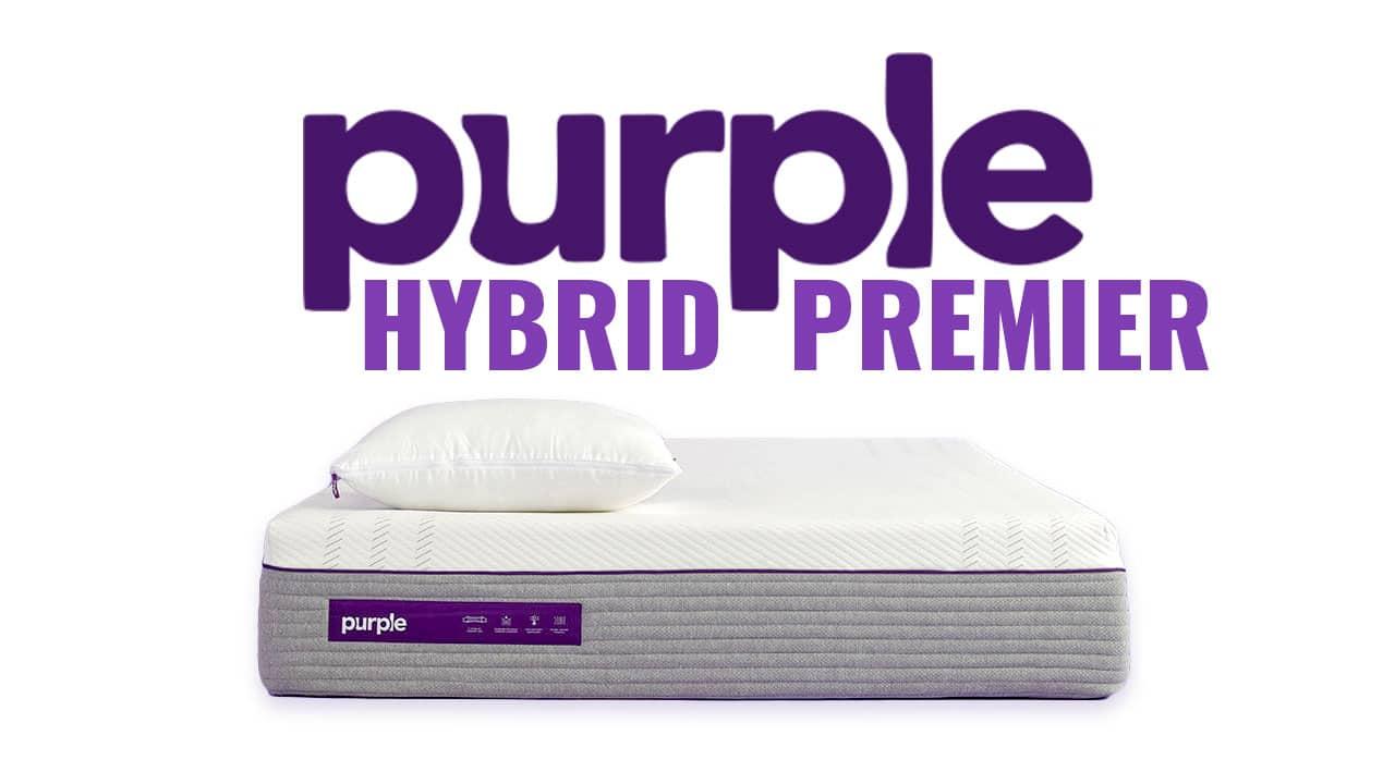 purple hybrid premier mattress review deal