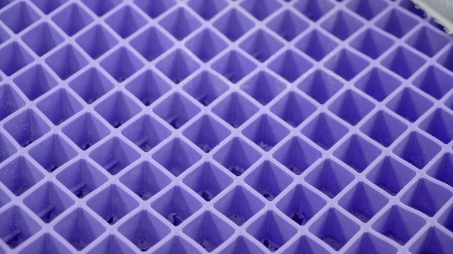 purple mattress hyper elastic polymer