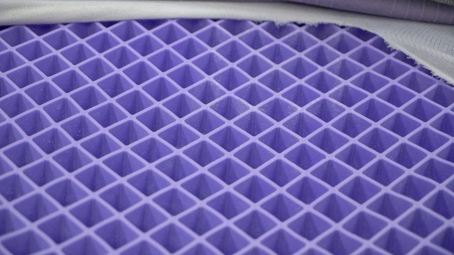 purple mattress review hyper elastic polymer topper bed online