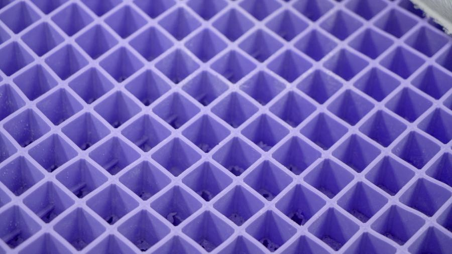 purple mattress review hyper elastic polymer topper bed online