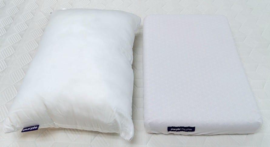 Purple Plush Pillow vs Purple Pillow