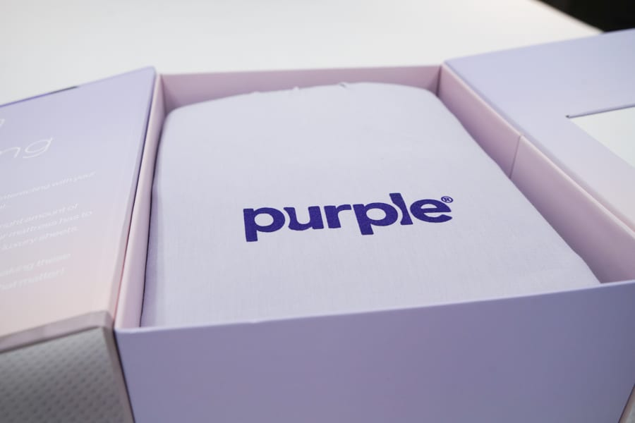 Purple softstretch unboxing