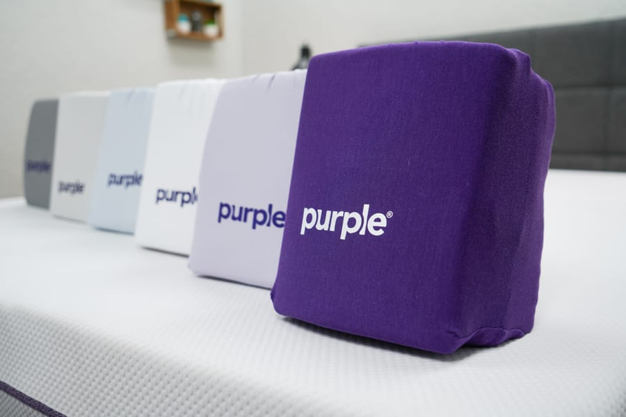 Purple sheets color options