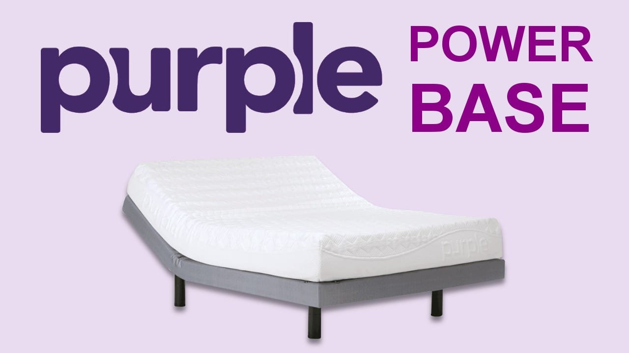 purple powerbase adjustable bed frame review coupon code