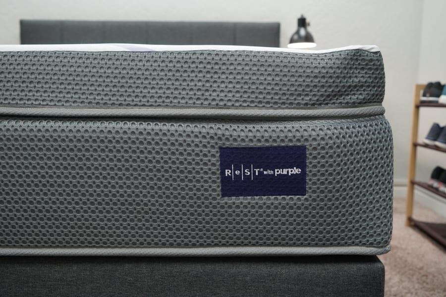 ReST With Purple Mattress Review Construction Thickness