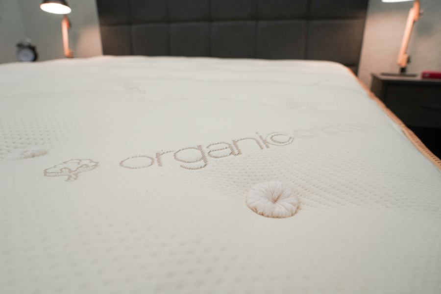Saatva Latex Hybrid mattress Review Organic Cotton