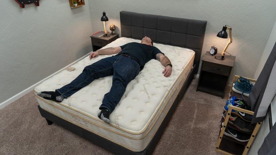 saatva mattress back sleeper review