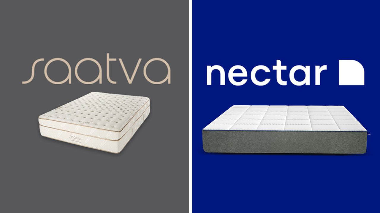 Saatva Vs Nectar Mattress Review Amp Comparison Updated