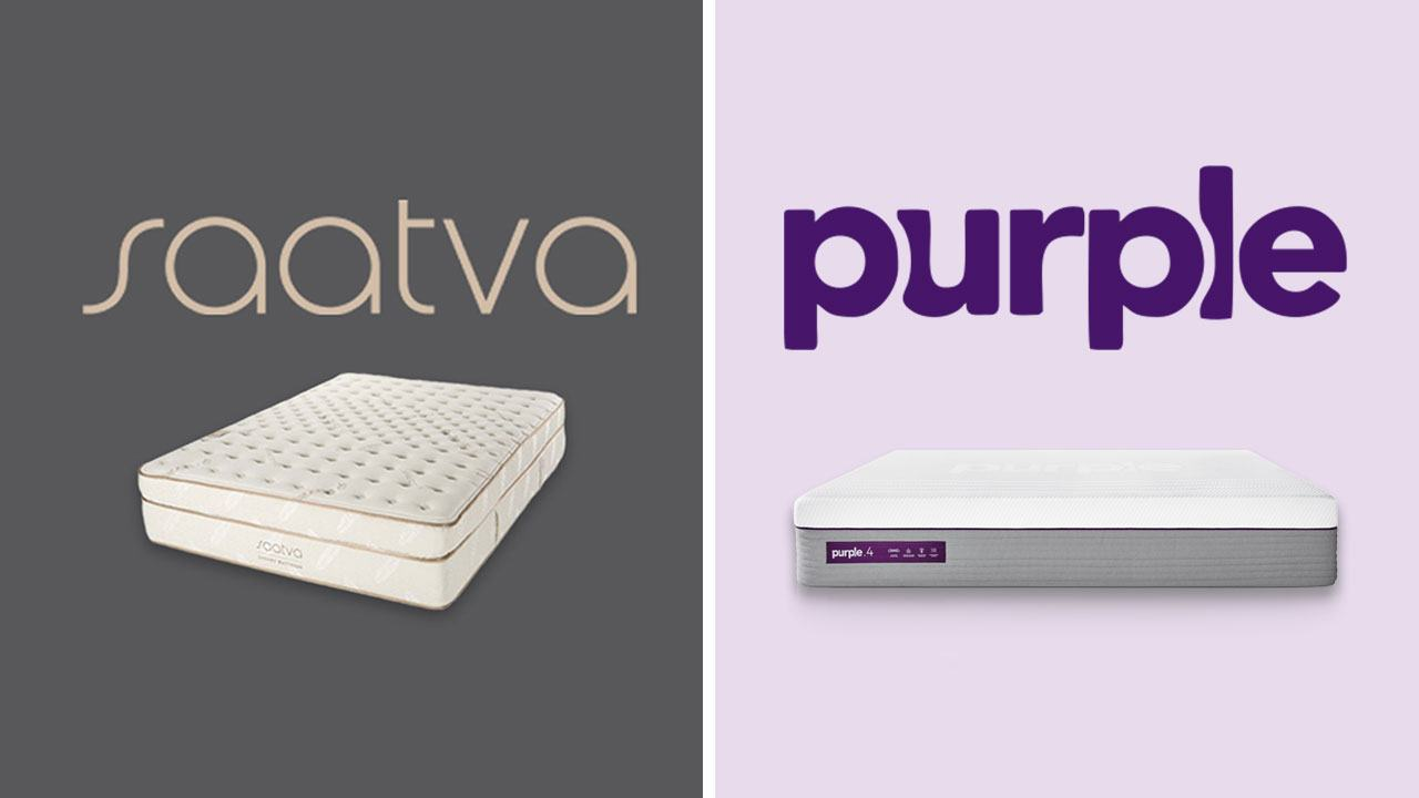 Saatva vs Purple Mattress