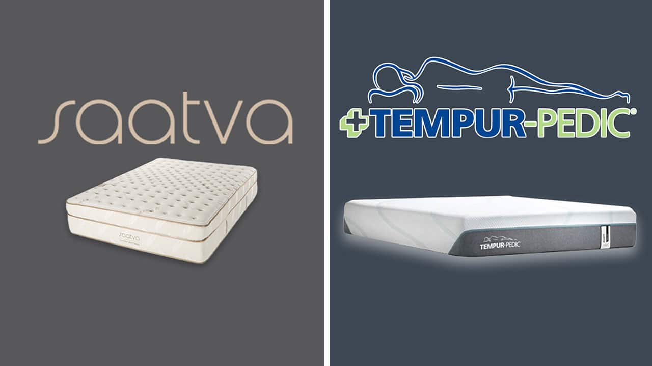 Saatva vs TempurPedic Mattress