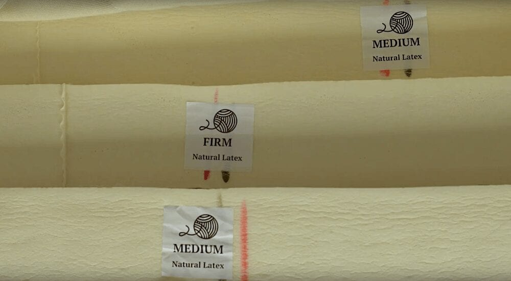 spindle mattress review latex foam