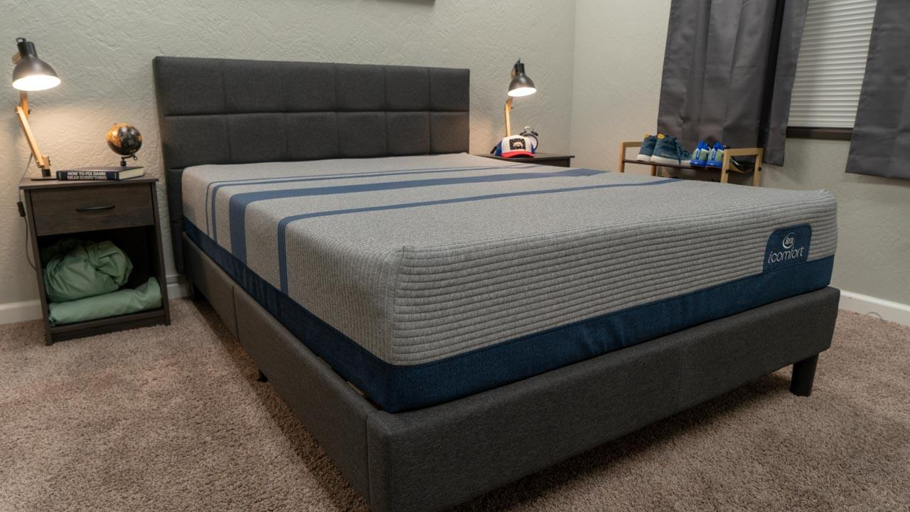 serta icomfort blue max review heavy people