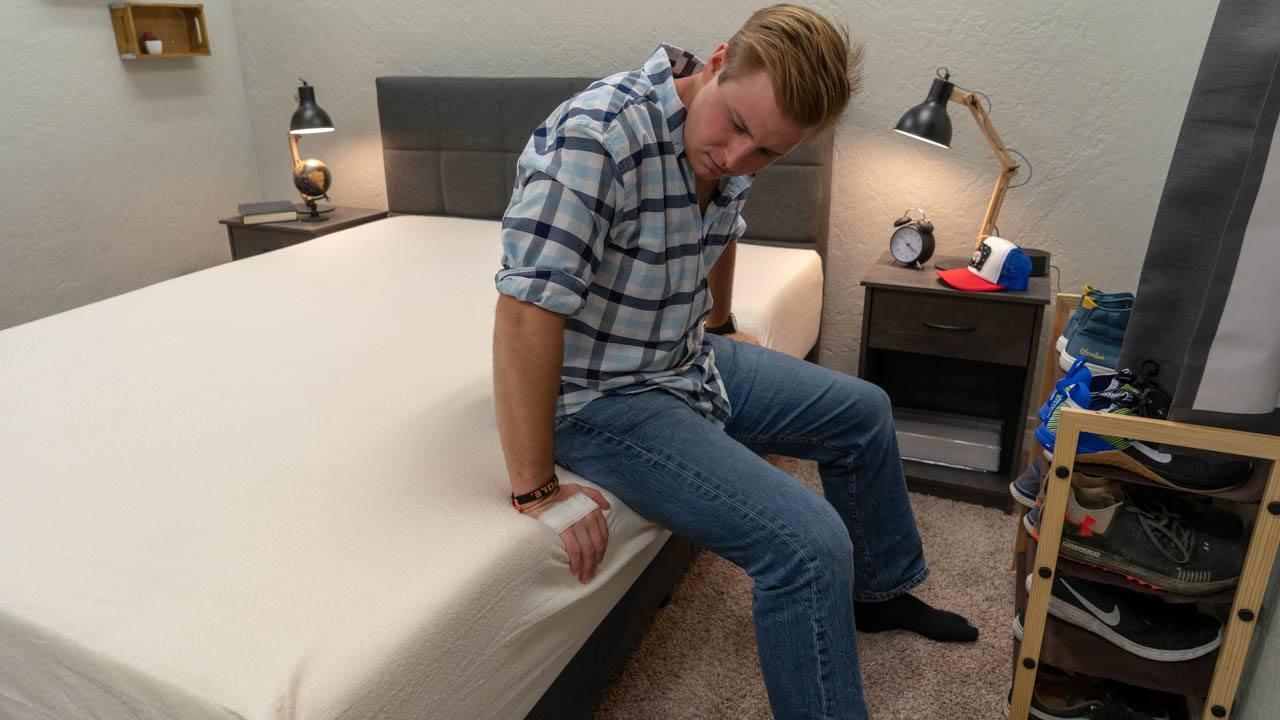 signature sleep mattress review memoir 12 memory foam bed amazon edge support