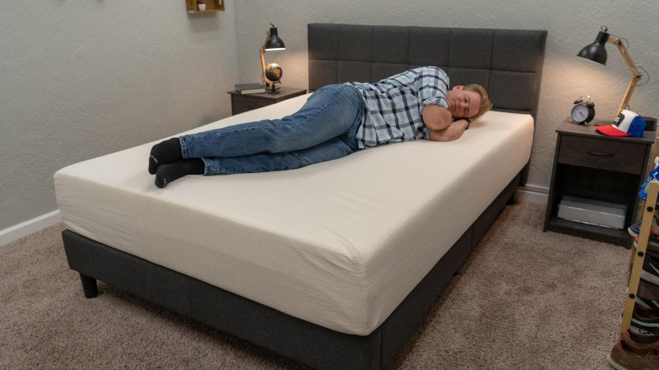 signature sleep mattress review memoir 12 memory foam bed amazon side sleepers