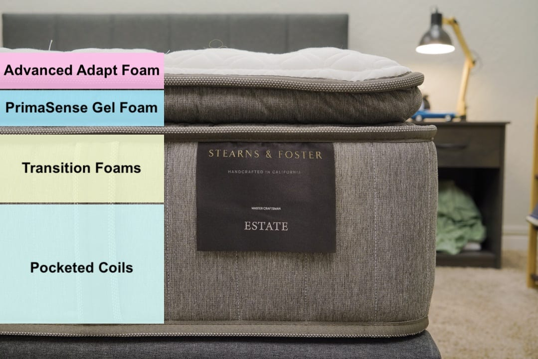 stearns and foster mattress review construction and layers