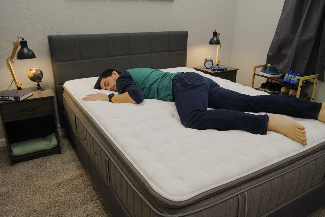 stearns and foster estate addison grace mattress review stomach and back sleepers