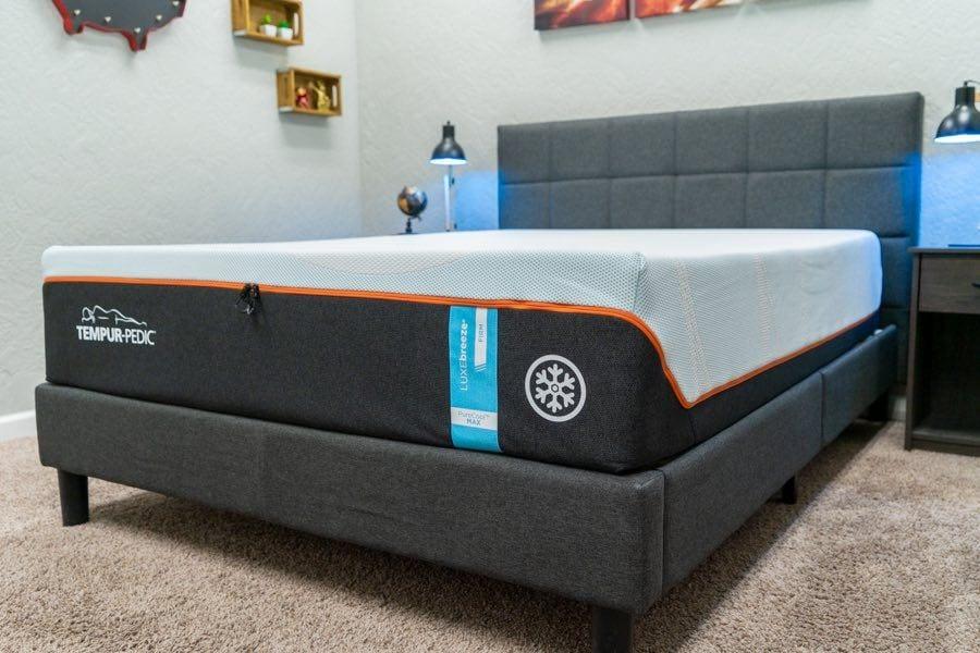 tempurpedic mattress review tempur luxe breeze