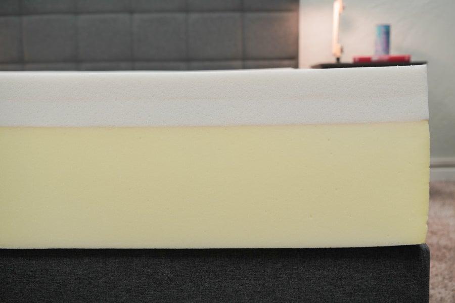 TempurPedic memory foam mattress layer