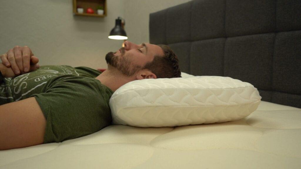 Tempur Pedic Tempur Cloud Pillow Review Back Sleeper sleeper position