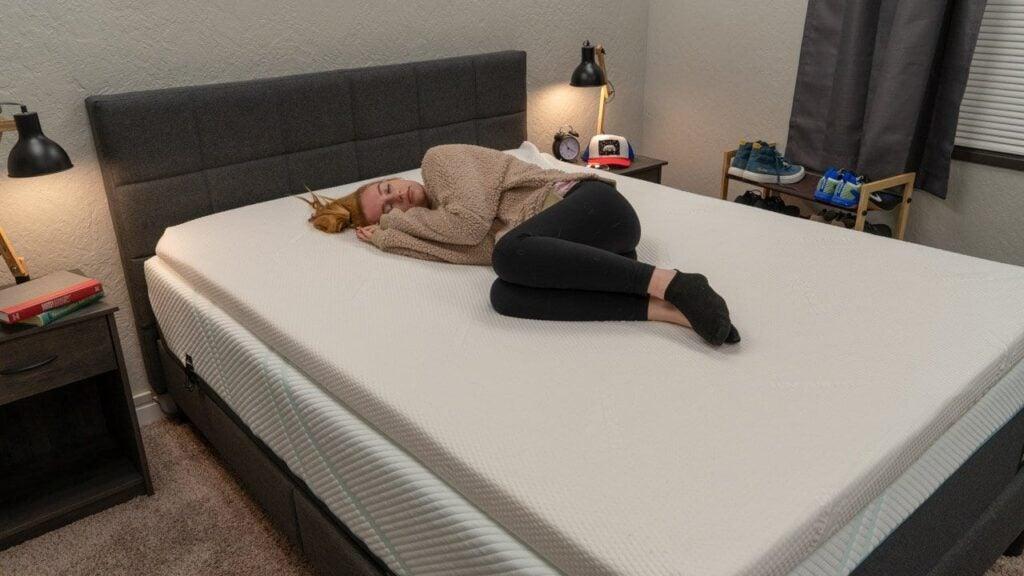 tempurpedic tempur topper supreme review mattress topper side sleepers