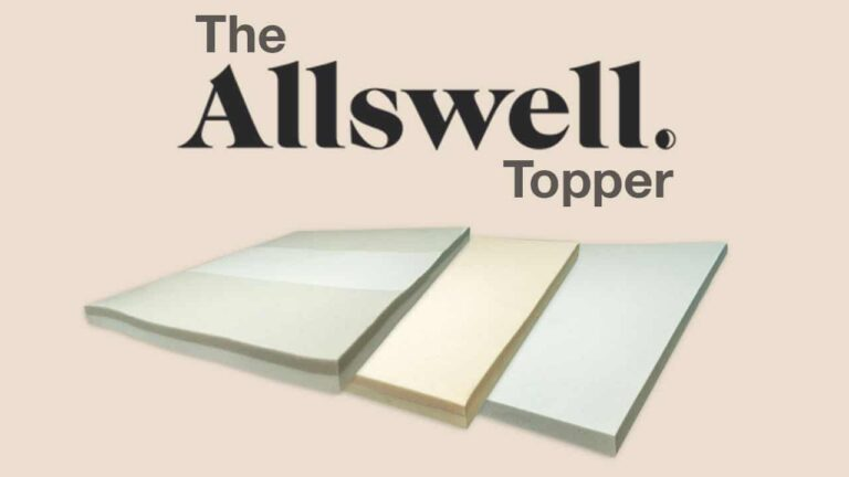 Allswell Mattress Topper Review