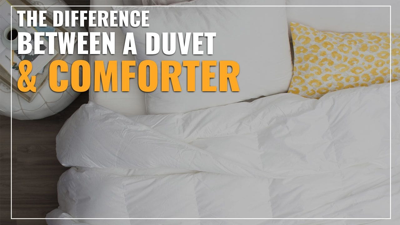 The Difference Between Duvet And Comforter Explained