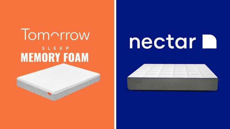 Tomorrow Sleep vs Nectar Mattress